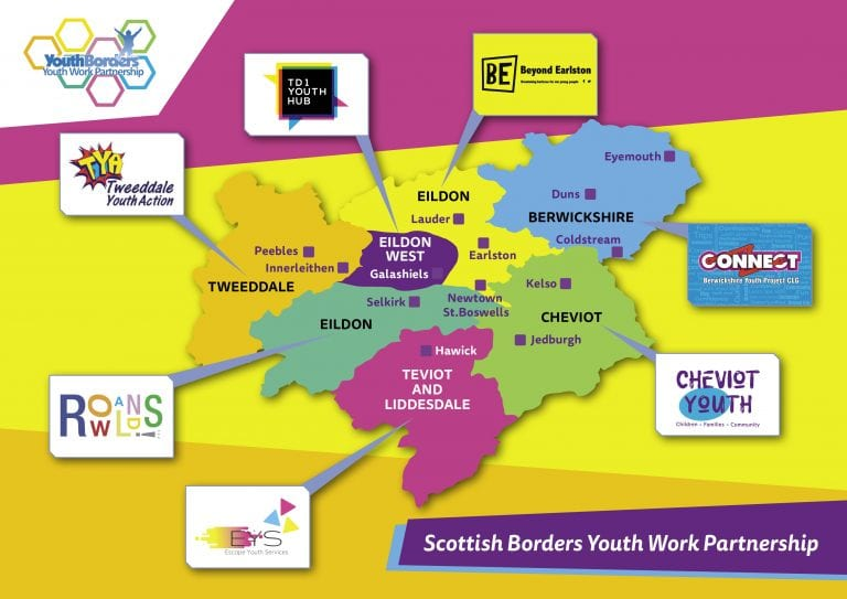 Youth Borders Locality Map